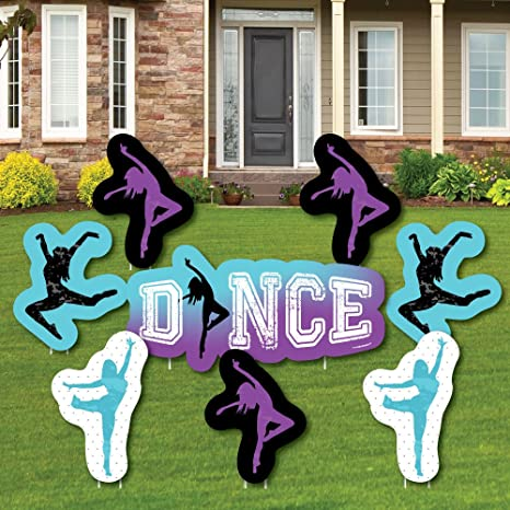Amazon Com Must Dance To The Beat Dance Yard Sign Outdoor