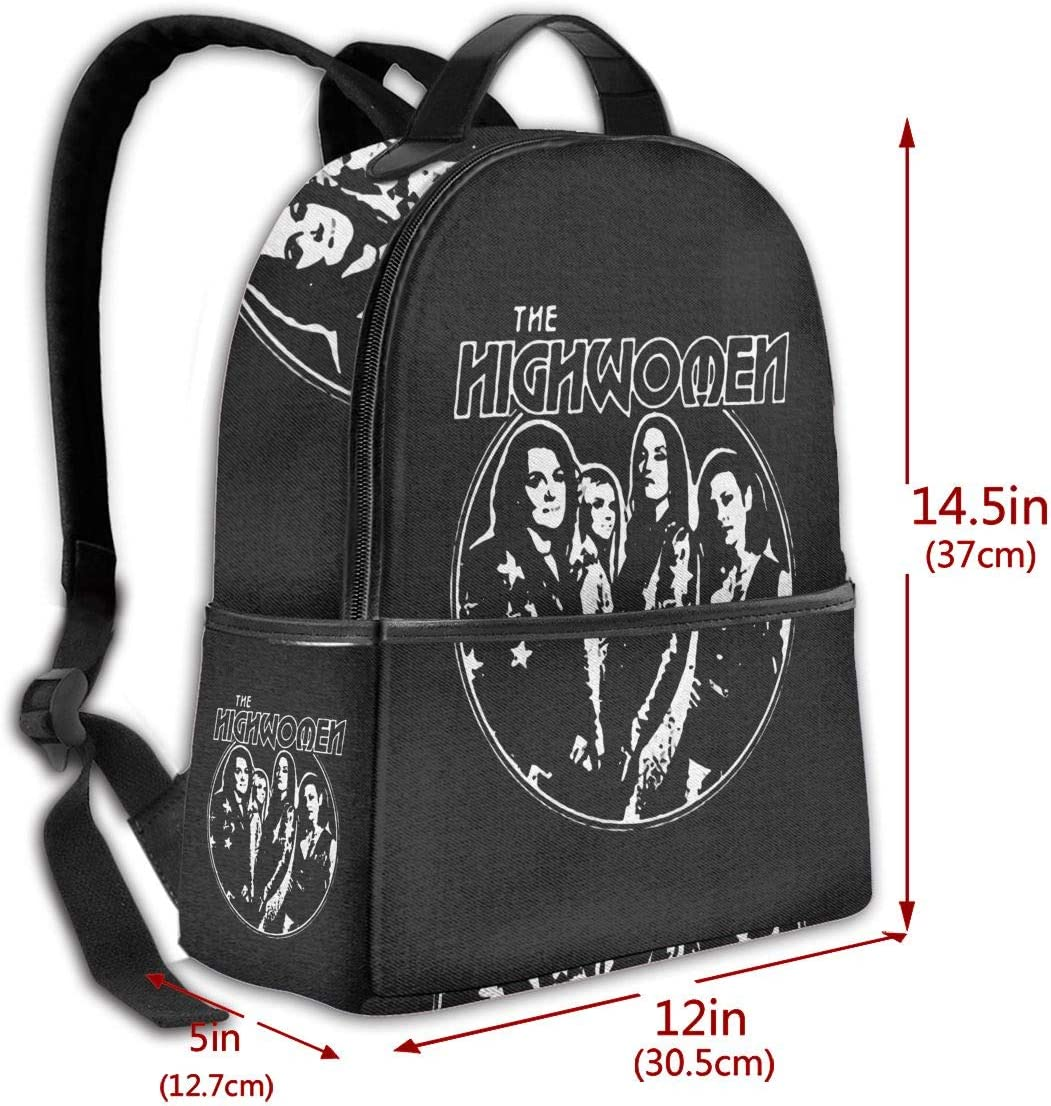 Backpack The Highwomen Album Package Laptop Backpack Fashion Theme School Backpack