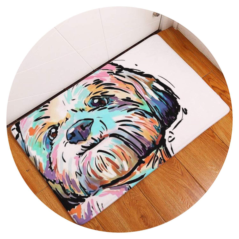 Home Non Slip Door Floor Mats Hall Rugs Kitchen Bathroom Carpet Decor alfombras infantiles para habitacion #TX,multicolour2,40cmx60cm