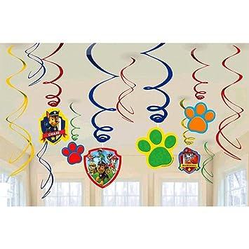 paw patrol accesorios decorativos para fiesta de cumpleaos diseo de patrulla de cachorros perfecto