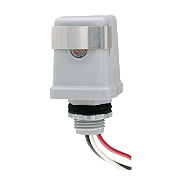 intermatic k4121c 120 volt stem mount thermal photocontrol  intermatic photo control wiring #15