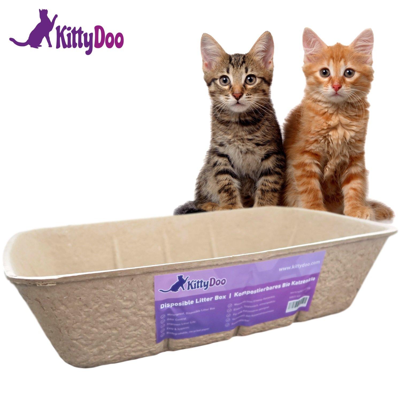 Kitty Doo–Bio Chats Toilette, compostable, hygiénique, sans odeur workingHOUSE
