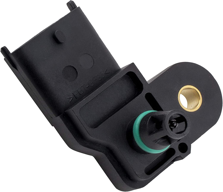 Manifold Absolute Air Pressure Map Sensor fits 12-15 Edge 13-16 Escape 14-18 Focus 13-16 Fusion L3 1.0L L4 1.6L 2.0L 2.3L 2.5L L5 3.2L 15-19 Transit-150 Transit150