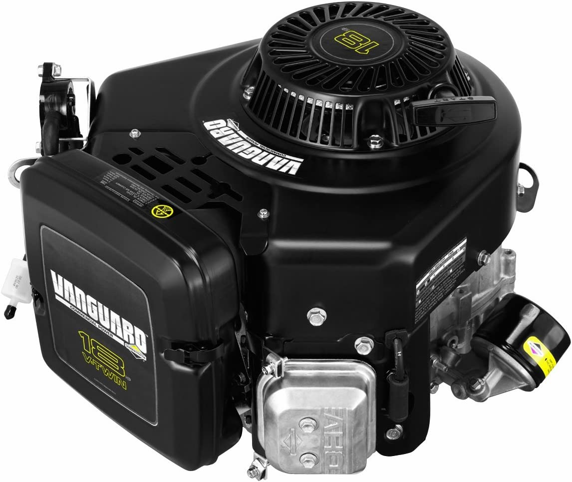Briggs & Stratton 356776-0006-G1 570cc 18.0 Gross HP Vanguard Engine with 1-Inch Diameter by 3-5/32-Inch Length Crankshaft, Tapped 7/16-20-Inch, 1/4-Inch Keyway