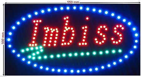 C&K LED Cartel XL Imbiss Placa publicitaria (Leuchtreklame ...