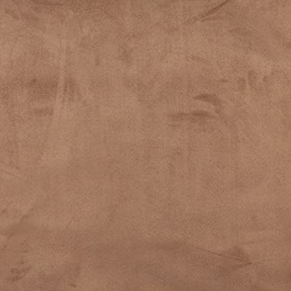 Amazon Com Mocha Brown Premium Soft Microfiber Suede Upholstery