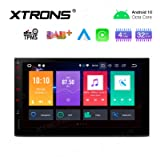 XTRONS Android 10 Car Stereo Radio Player Universal Double Din GPS Navigation Octa Core 4G RAM 32G ROM 7 Inch Touch…