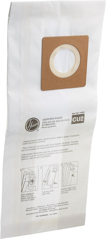 Hoover Paper Bag (10 Pack), Hushtone Cu2 902A00033
