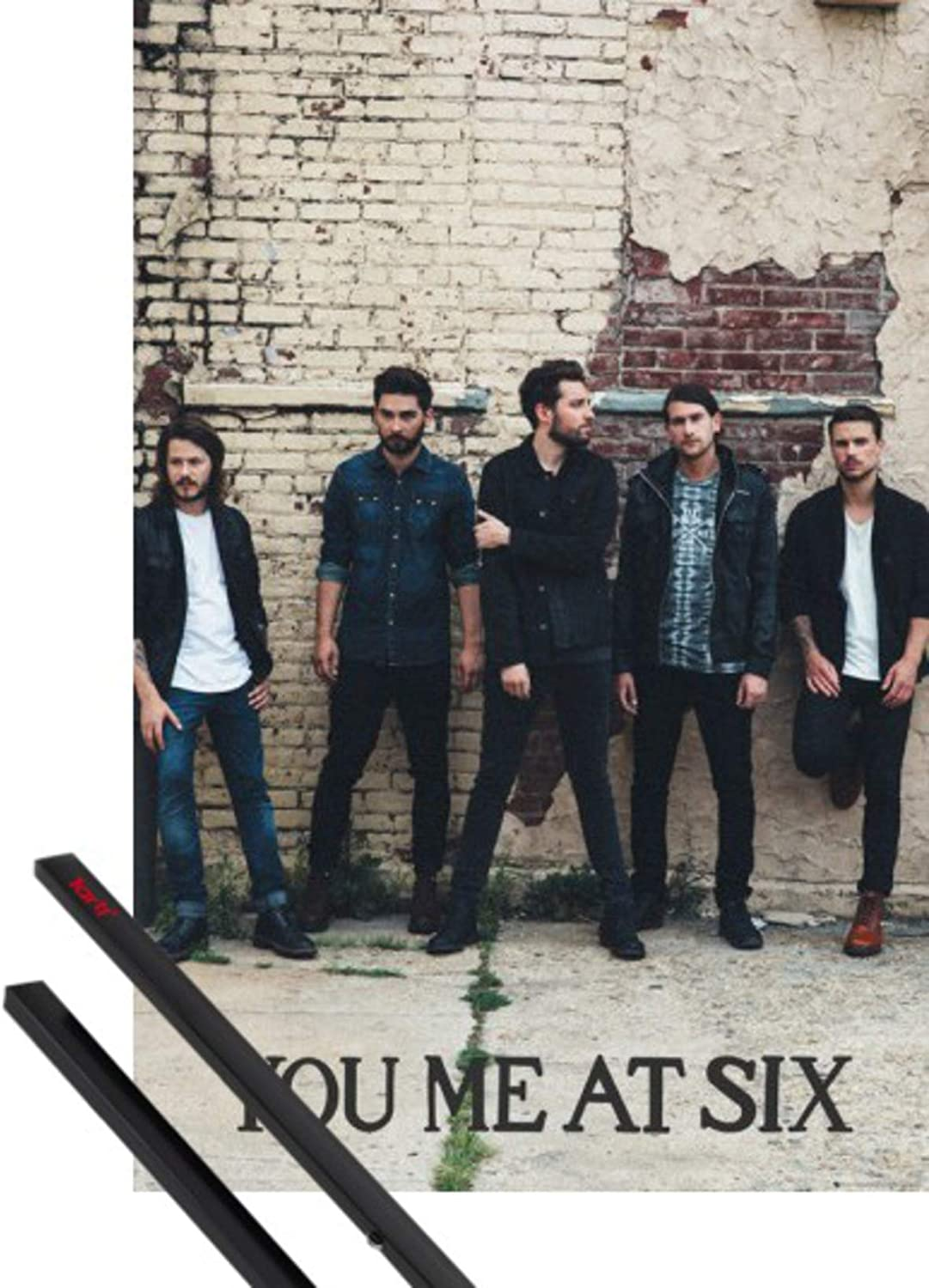 Official You Me At 6 Black White Maxi Poster 91.5 x 61 cm Mini Gaint Wall Art
