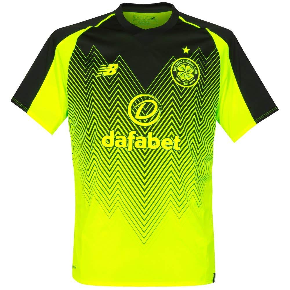 online retailer 0a377 5a3c5 New Balance Celtic FC 2018/19 Mens Short Sleeve Third Soccer ...