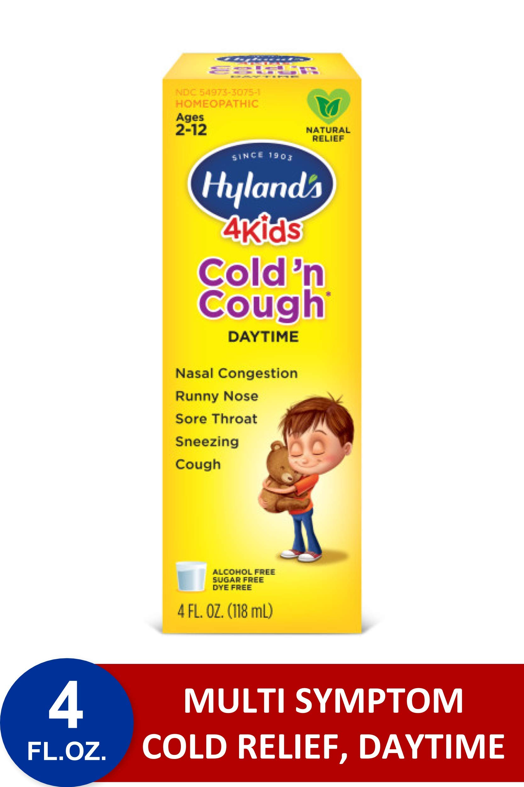 Hyland S Cold And Cough 4 Kids Cough Syrup Medicine For