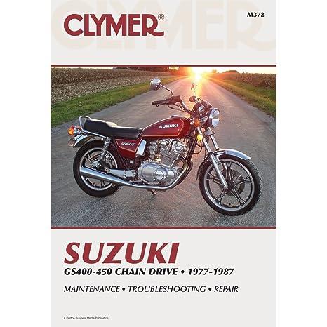 amazon com clymer repair manual m372 manufacturer automotive rh amazon com suzuki gs 400 service manual pdf 1978 suzuki gs400 manual