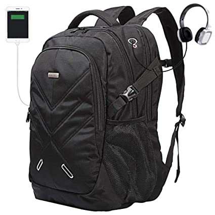 dc79ee406a5e Backpack for Laptops Up to 18.4 Inch Hiking Backpack Water Resistant Travel  Computer Backpack Shockproof Laptop