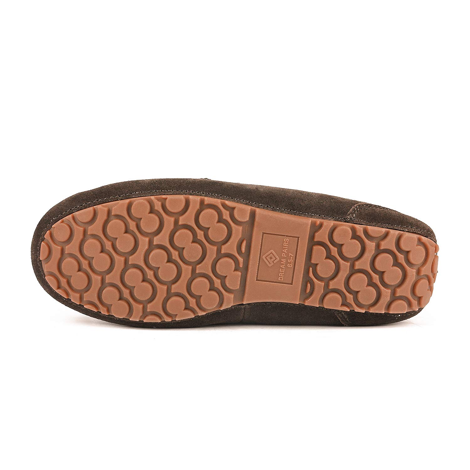 DREAM PAIRS Womens Auzy Winter Moccasins Slippers