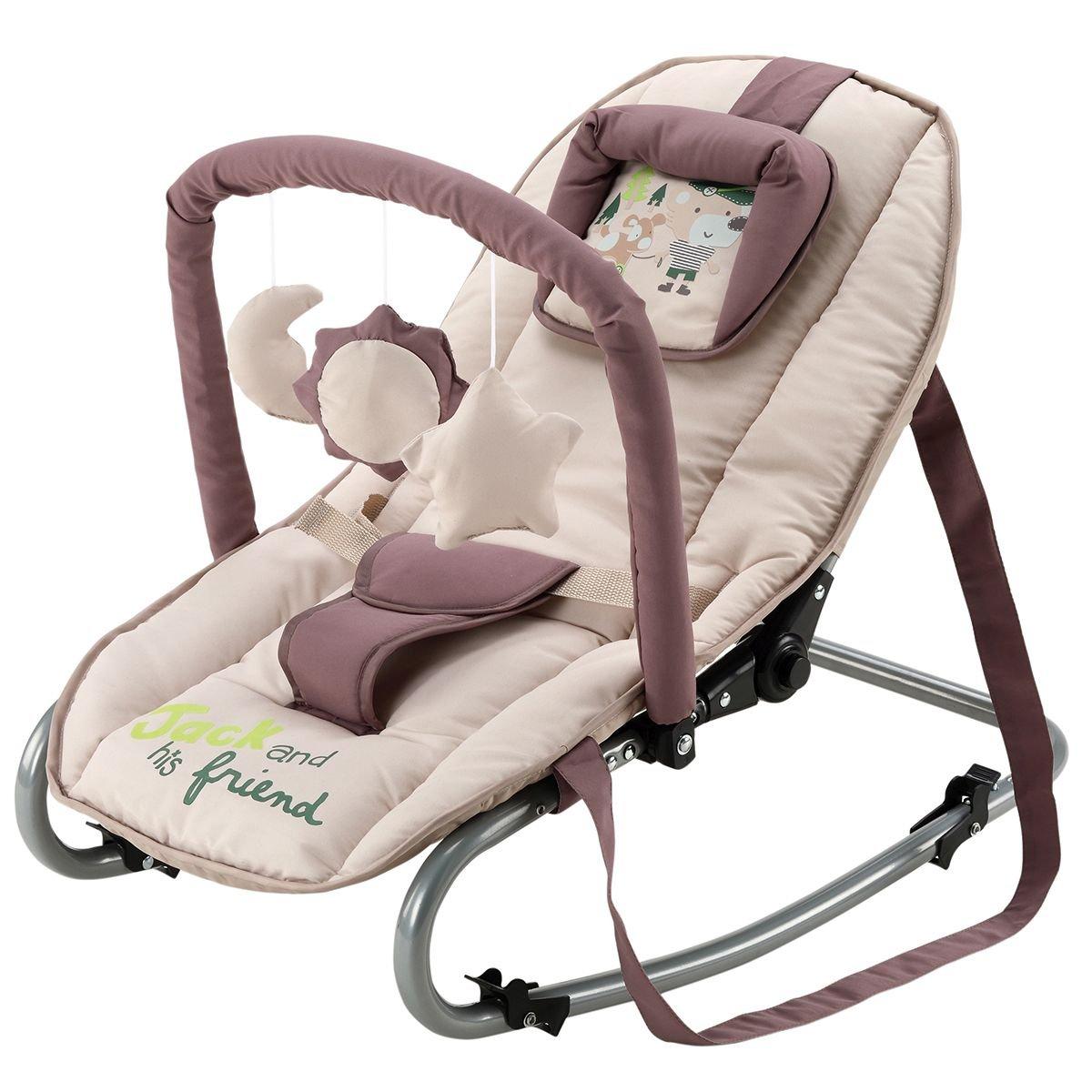 BABY-PLUS Wippe Bella C 17-43 (Beige/Jack) Baby Plus