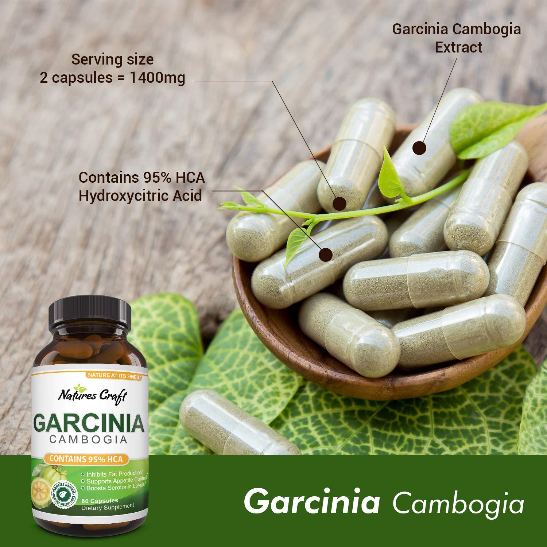 Amazon.com: Garcinia Cambogia con 95% HCA Suplemento de ...