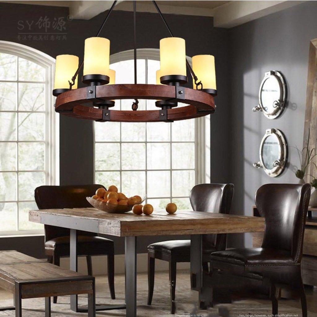 Pendelleuchten Industrial Edison Retro Style 6 Lampe Küche Insel ...