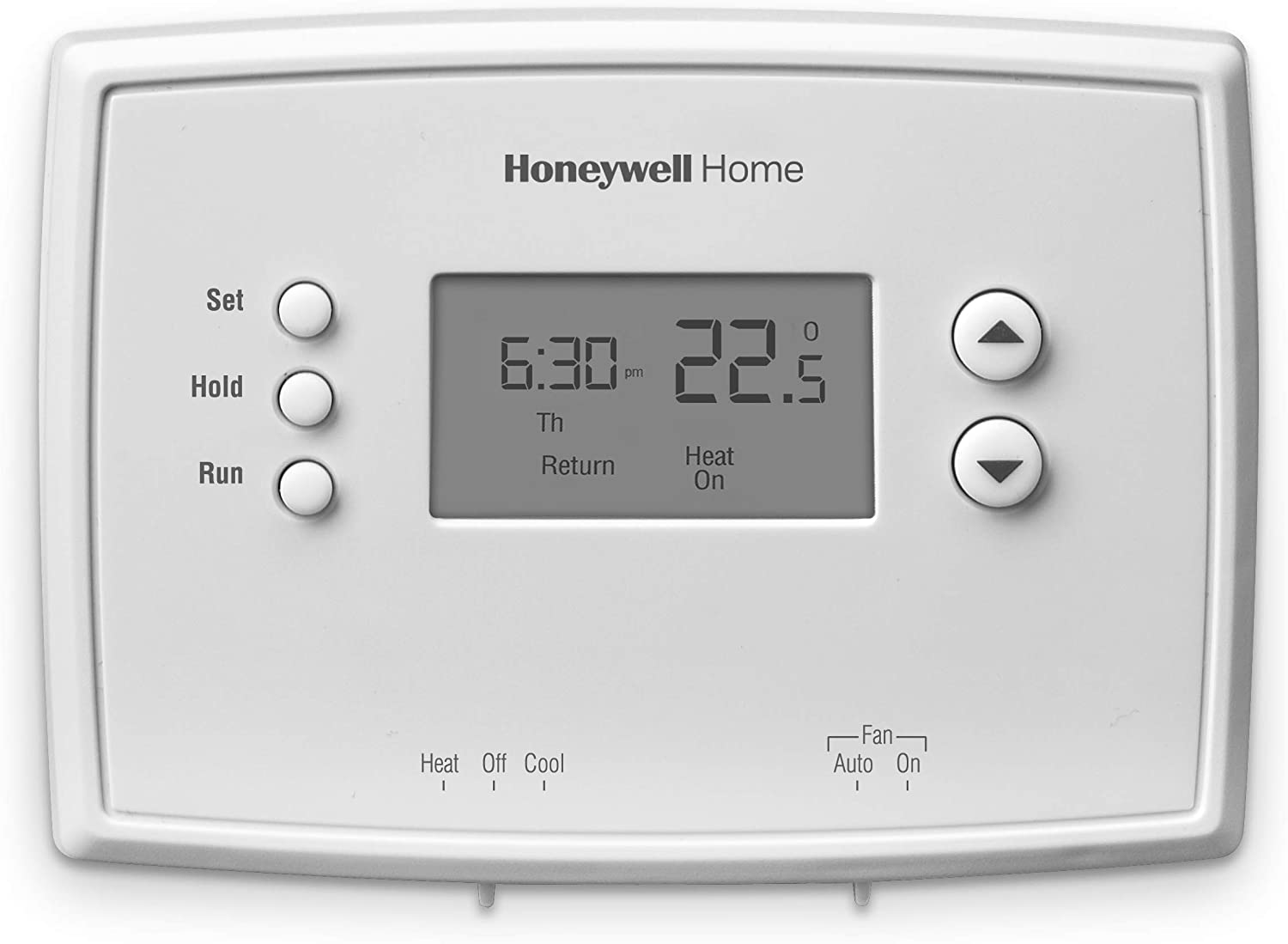 Honeywell Home RTH221B 1-Week Programmable Thermostat Tools & Home ...