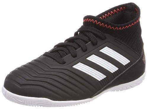 Adidas Predator Tango 18.3 In J, Zapatillas de fútbol Sala Unisex Adulto, Negro (Negbas/Ftwbla/Rojsol 000), 38 2/3 EU: Amazon.es: Zapatos y complementos