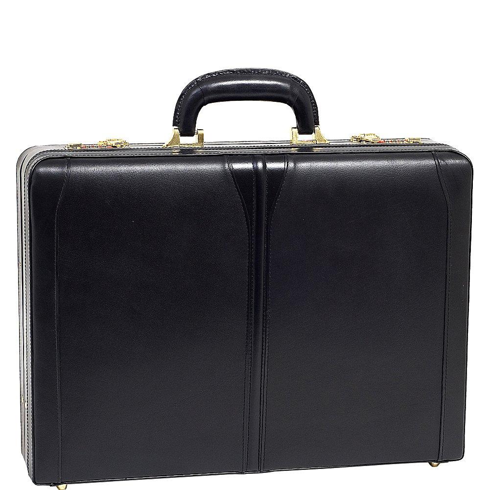 McKleinUSA TURNER 80485 Black Leather Expandable Attache Case by McKleinUSA