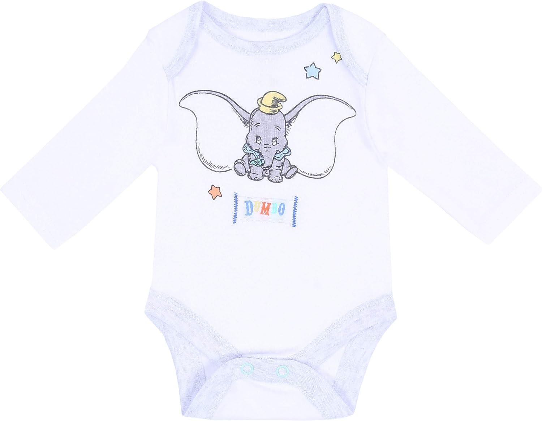 @ DISNEY BABY 2PC Dumbo Gris Une Pièce Body /& Ange SET*@Neuf avec étiquette!