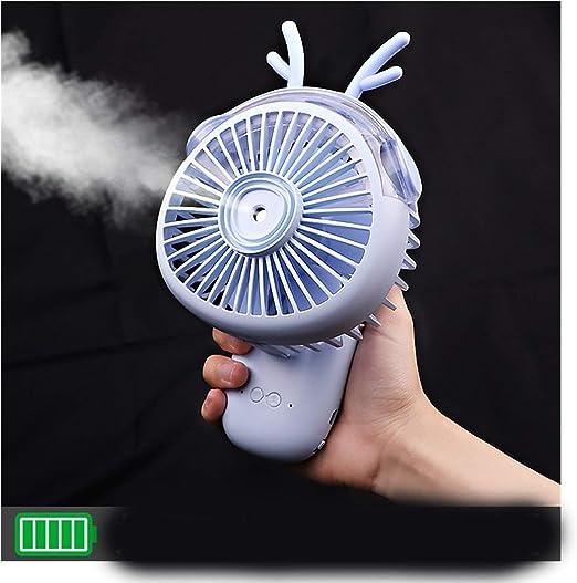 Abanico Mini ventilador portátil portátil de dibujos animados ...