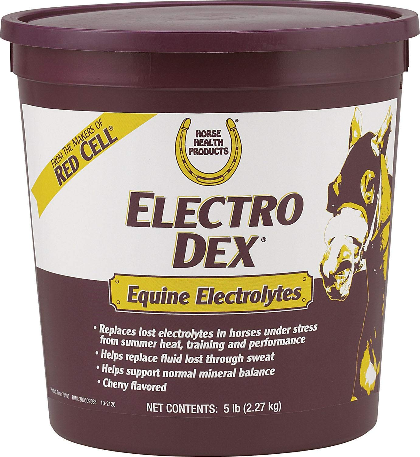 FARNAM CO Horse Health Electro-Dex Electrolyte for Horses Cherry 5 Pound