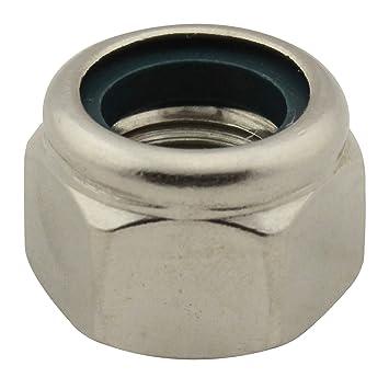M8 DIN 982 Sicherungsmuttern A2 V2A Edelstahl Klemmteil hohe Form Stopmuttern
