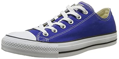 229bc7ea48d Converse Kids Unisex Chuck Taylor All Star Ox (Infant Toddler) Radio Blue  Sneaker