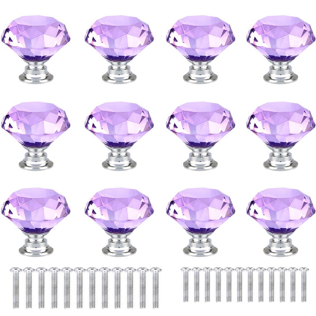 12 Tiradores - Simil Cristal (71KWZ7SJ)