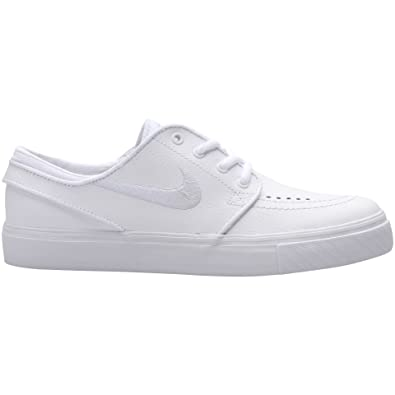 NIKE SB YOUTH STEFAN JANOSKI BG SKATE SHOES, WHITE, US SIZE 4.5