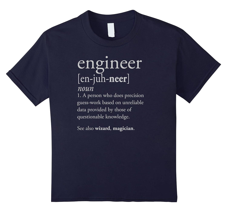 Mens Engineer Definition Shirt Engineering-Awarplus