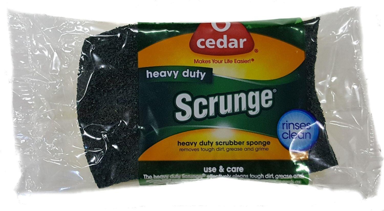 Pack of 12 O-Cedar Scrunge Heavy Duty Sponge