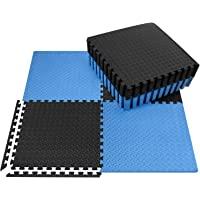 innhom Gym Mats Exercise Mat Puzzle Foam Mats Gym Flooring Mat Interlocking Foam Mats with EVA Foam Floor Tiles for Gym…