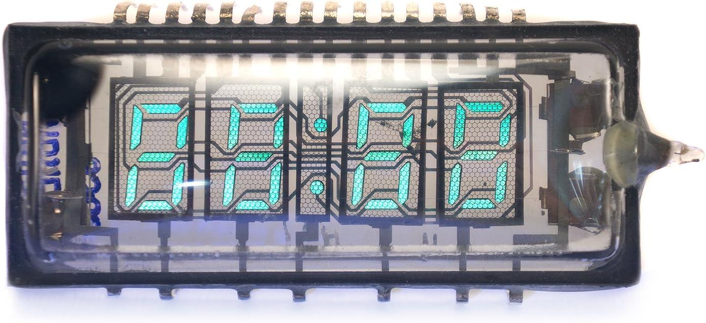 S.U.R. & R Tools VINTAGE VFD CLOCK INDICATOR IVL2-7/5 NOS