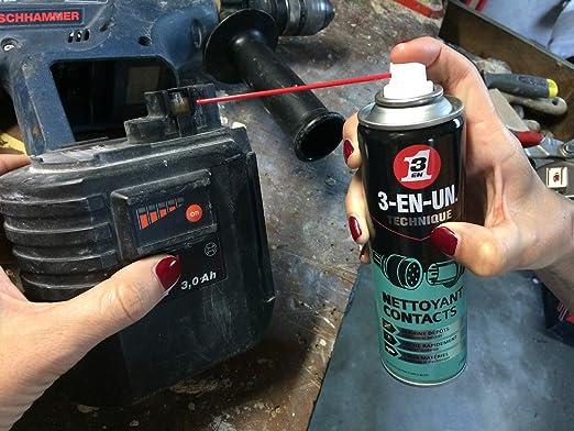 Limpiador de contactos - 3 EN UNO Profesional - Spray 250ml ...