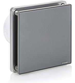 Cata   Extractor baño   Modelo e- 150 GT   Estractor de baño Serie e Glass   Bajo Consumo   Ventilador Extractores de aire alta Eficiencia Energética   Extractor baño silencioso: Amazon.es: Salud y cuidado personal
