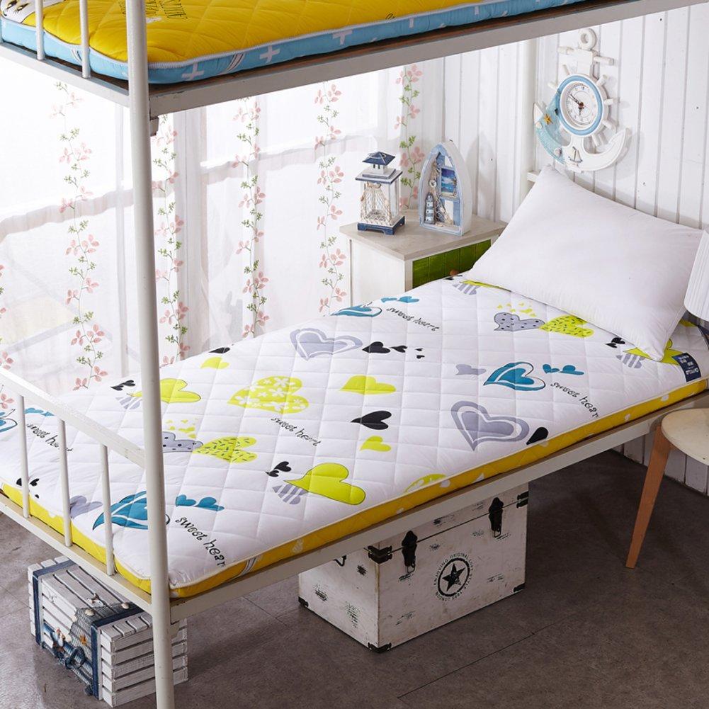 GX&XD Thicken Super soft Tatami floor mat,Folding mattress Floor lounger cover Floor mattress dorm room individual Collapsible Tatami mats-E 120x190cm(47x75inch)