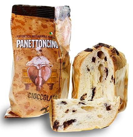 Panettone Italienischer Kuchen Schokolade Panettoncino 80g Amazon