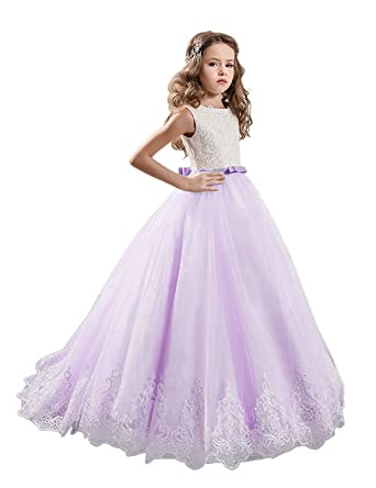 056cbce13025a Amazon.com: GZY 2018 New Flower Girls Dresses for Weddings Princess ...