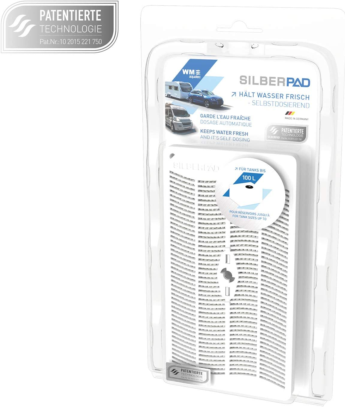 Wm Aquatec Silberpad Zur Automatischen Wasserkonservierung Auto