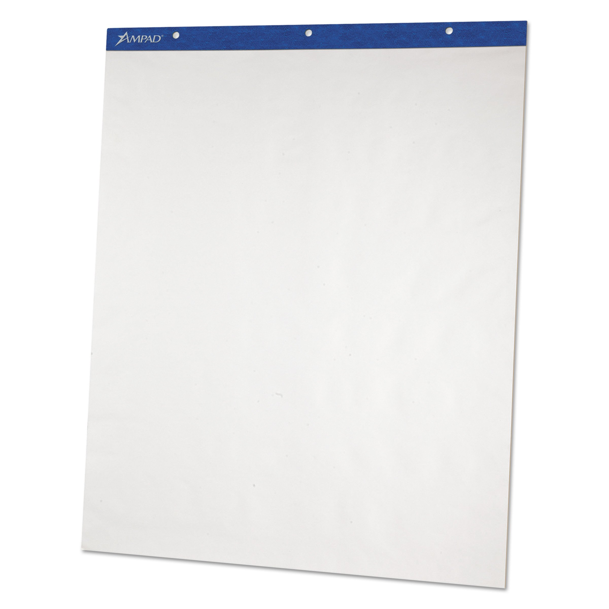 Ampad 24028 Flip Charts, Unruled, 27 x 34, White, 50 Sheets (Pack of 2) by Ampad