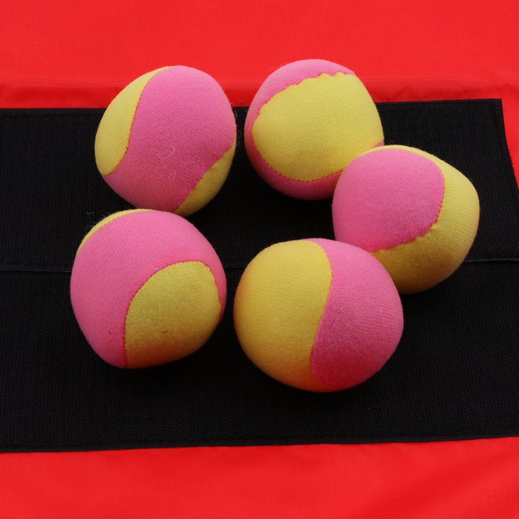 Kinder Dogde Ball Klettballspiel Ballspiel wie beschrieben Blau f/ür Erwachsene