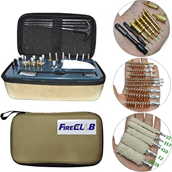 Durable Tackle Shooting Brushes Cleaning Kit Cleaner Tool for Shooting Tools