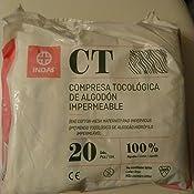 Indasec Maternity Compresa Tocológica Algodón Impermeable - 20 ...
