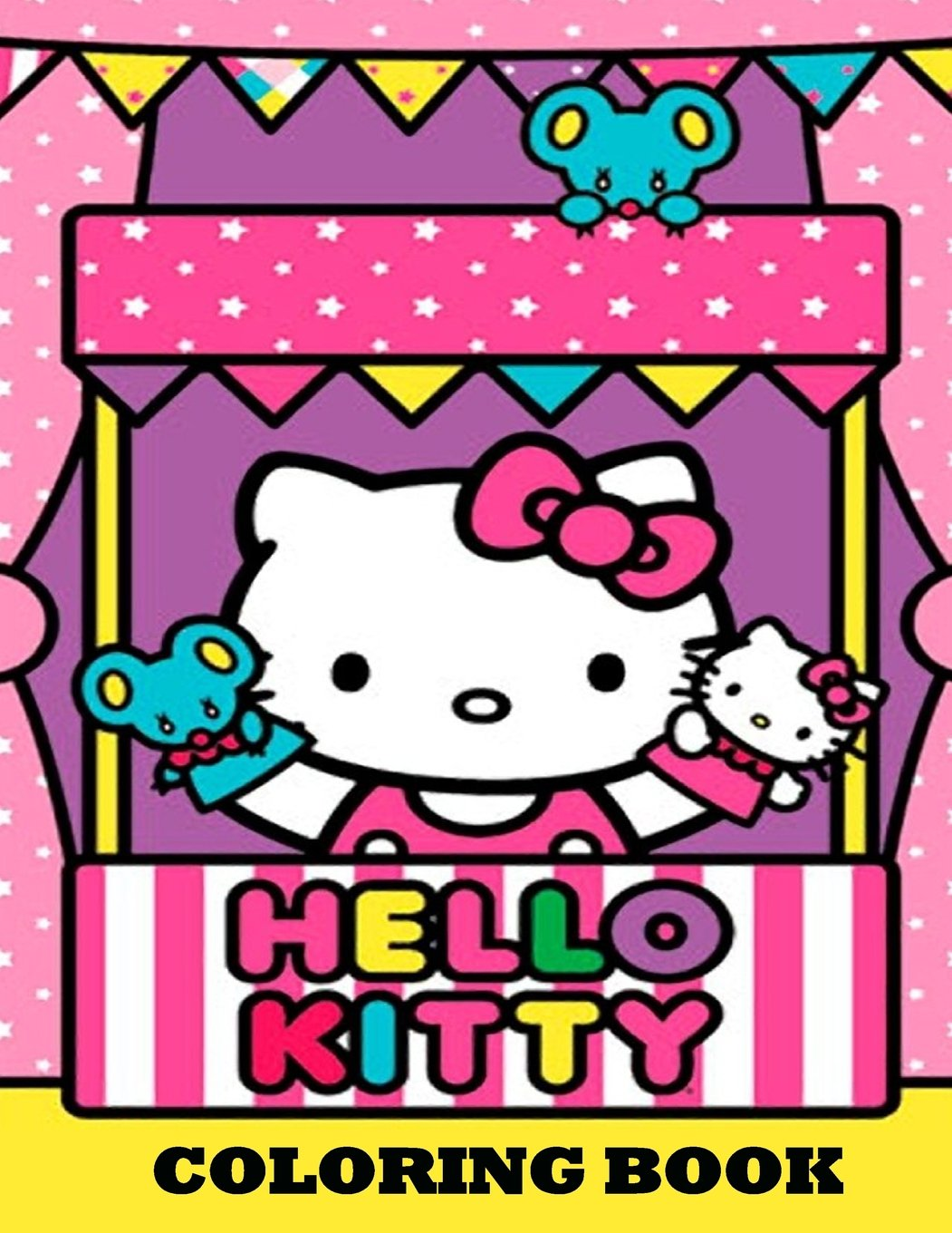 Read Online Hello Kitty Coloring Book: Coloring Book for Kids and Adults, This Amazing Coloring Book Will Make Your Kids Happier and Give Them Joy (Best ... Books for Adults and Kids 2-4 4-8 8-12+) PDF