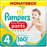 Pampers Premium Protection Pants Größe 4, 160 Windeln, 1 Monatsbox