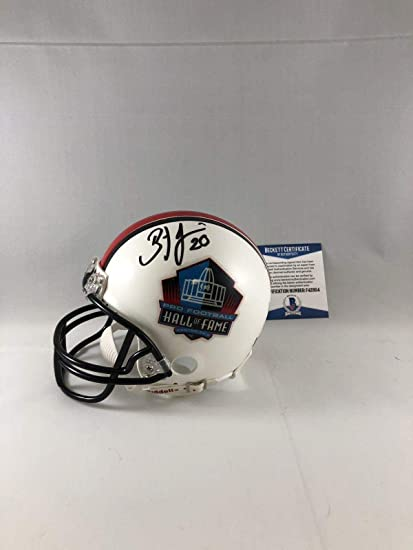 6a4b42b53f6 Image Unavailable. Image not available for. Color: Autographed Brian Dawkins  Mini Helmet ...