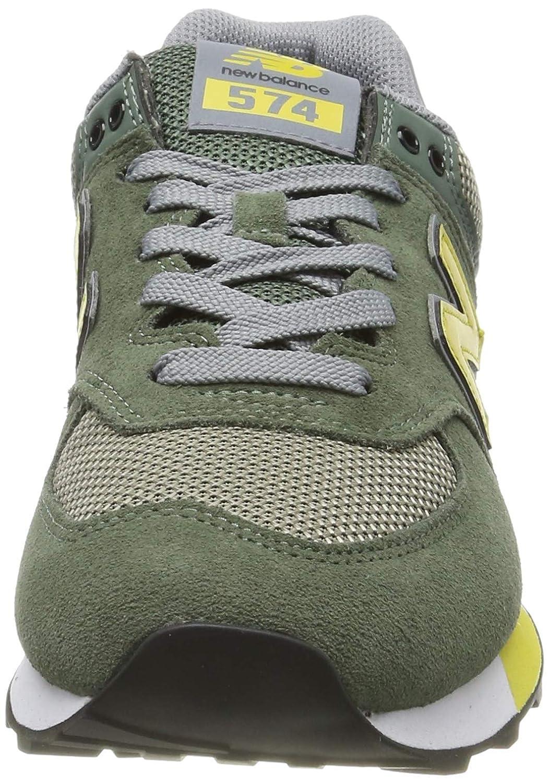 New Balance Herren 574v2 Sneaker Grün (Green Green)