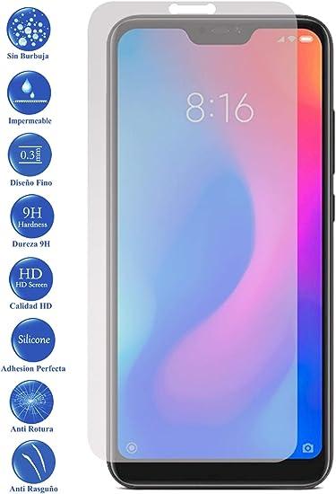 Todotumovil Protector de Pantalla Xiaomi MI A2 Lite de Cristal ...